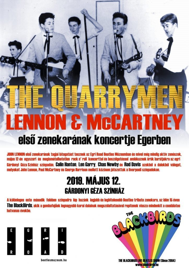The Quarrymen – Live in Eger!